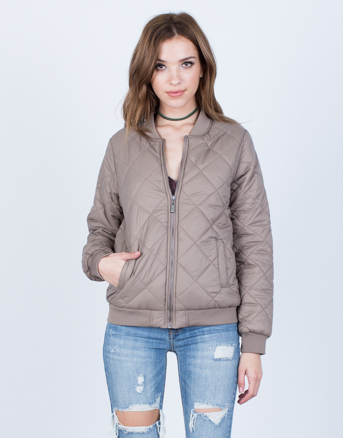 The Quilted Bomber - 2020AVE