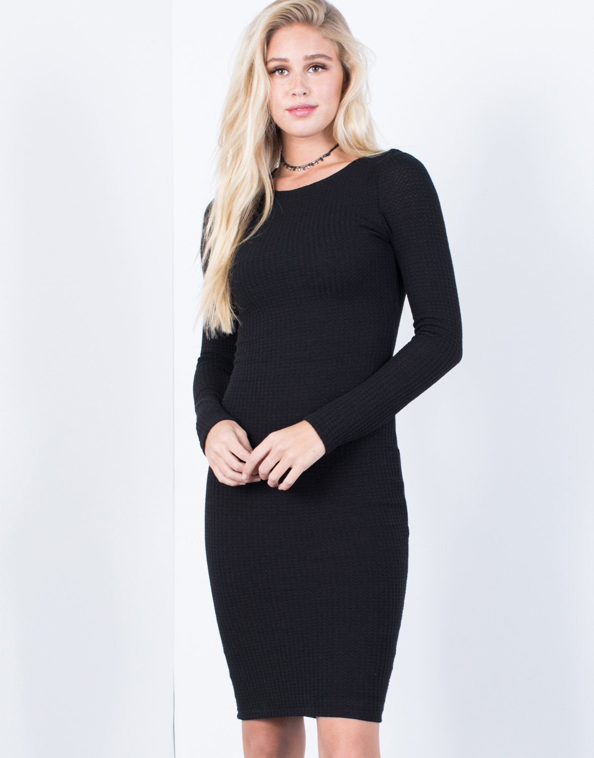 The Waffle Bodycon Dress
