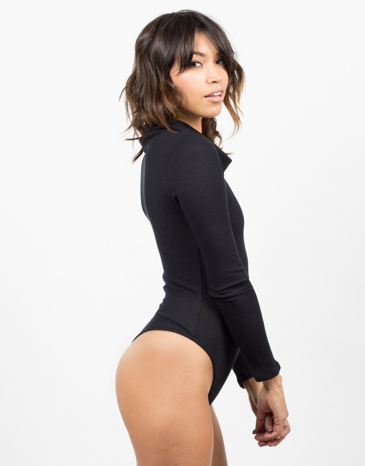 Side View of Thermal Bodysuit