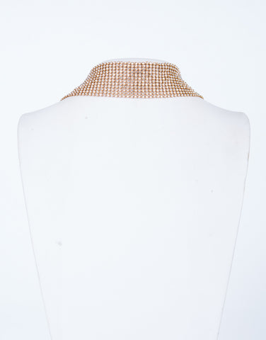 Thick Jeweled Choker