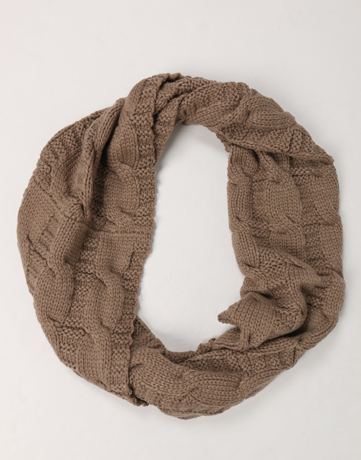 Thick Chunky Knit Infinity Scarf