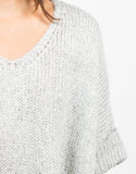 Detail of Thick Knit Sweater Tee