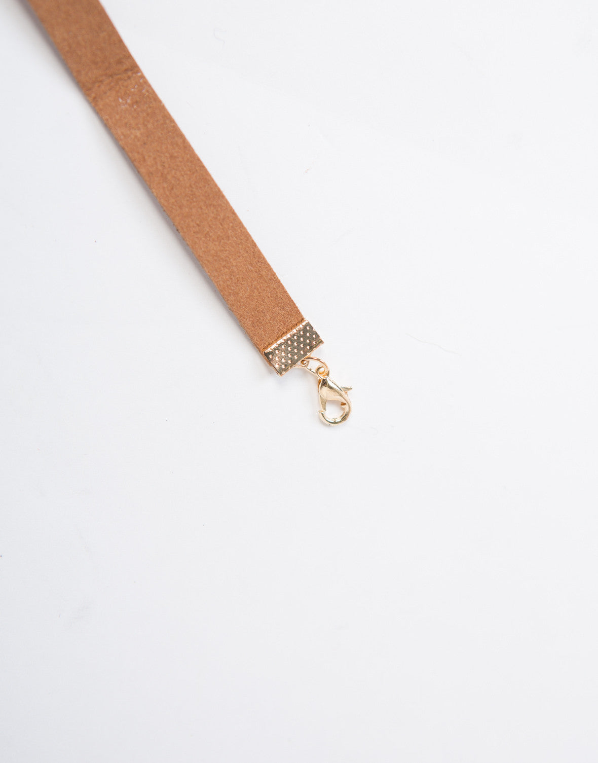 Thin Brown Choker - 2020AVE