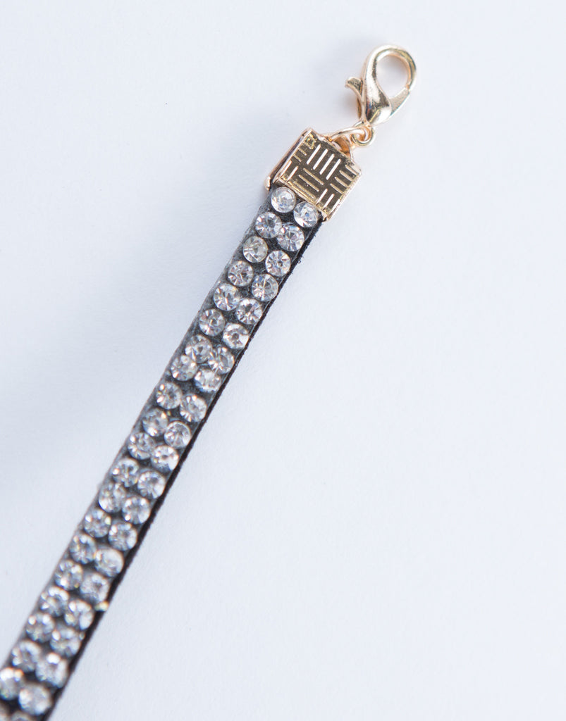 Thin Diamond Choker