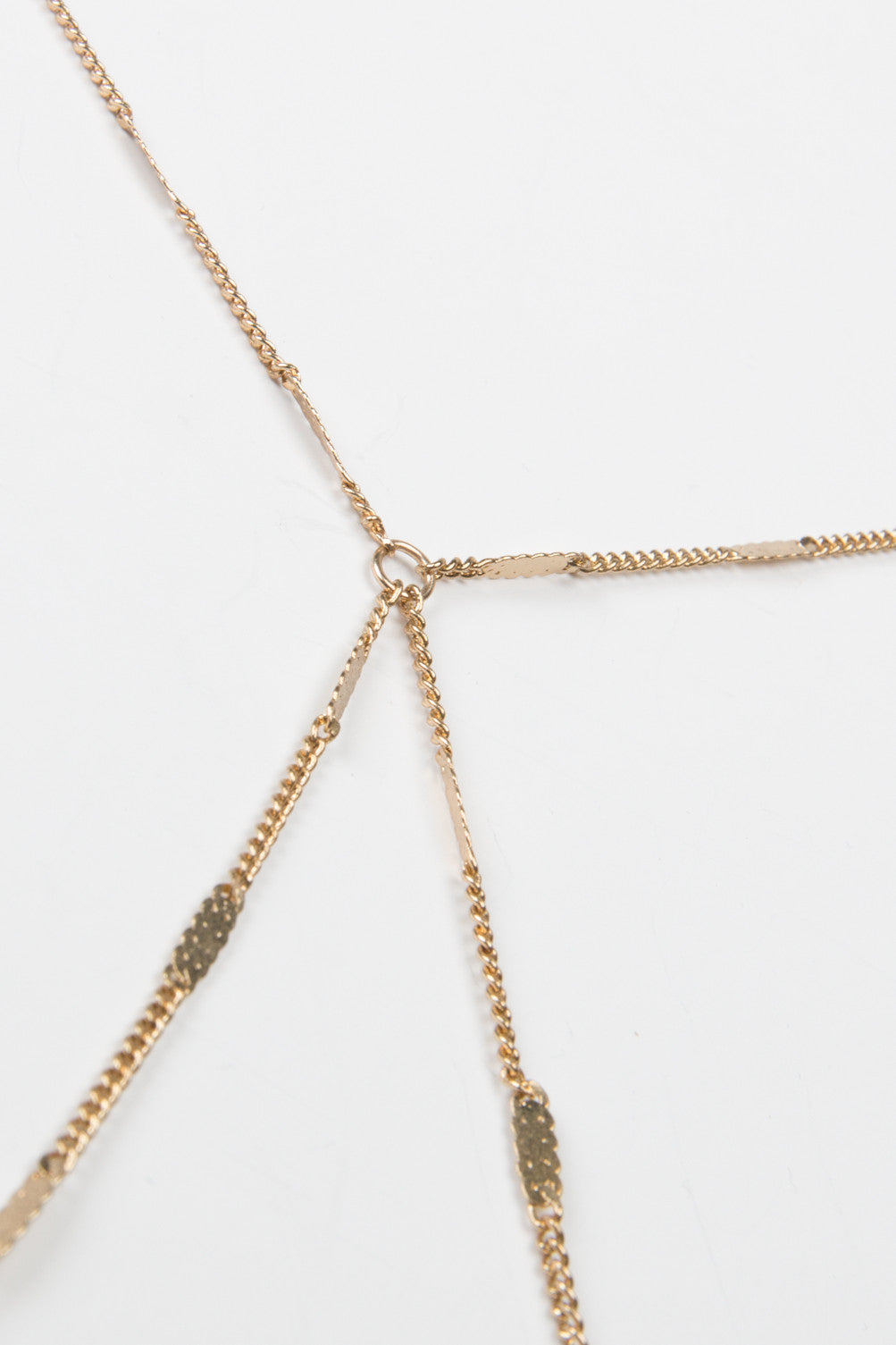 Detail of Thin Mini Bar Body Chain