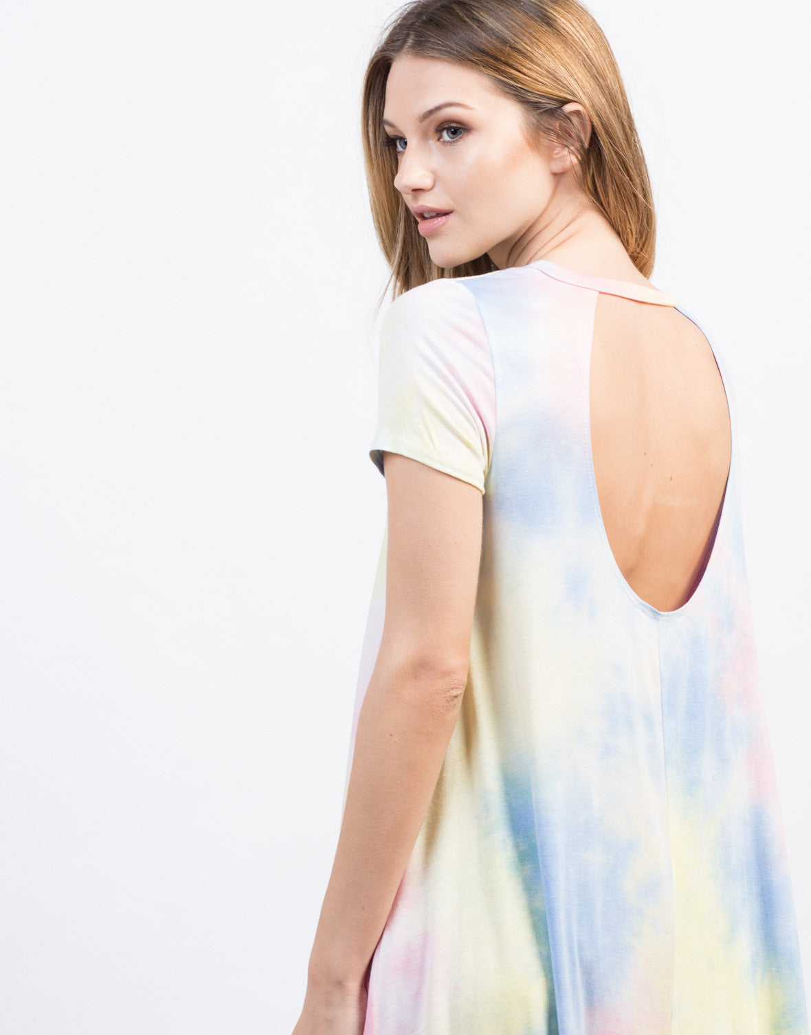 Detail of Tie-Dye Dress