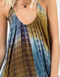 Detail of Tie-Dye Parachute Dress