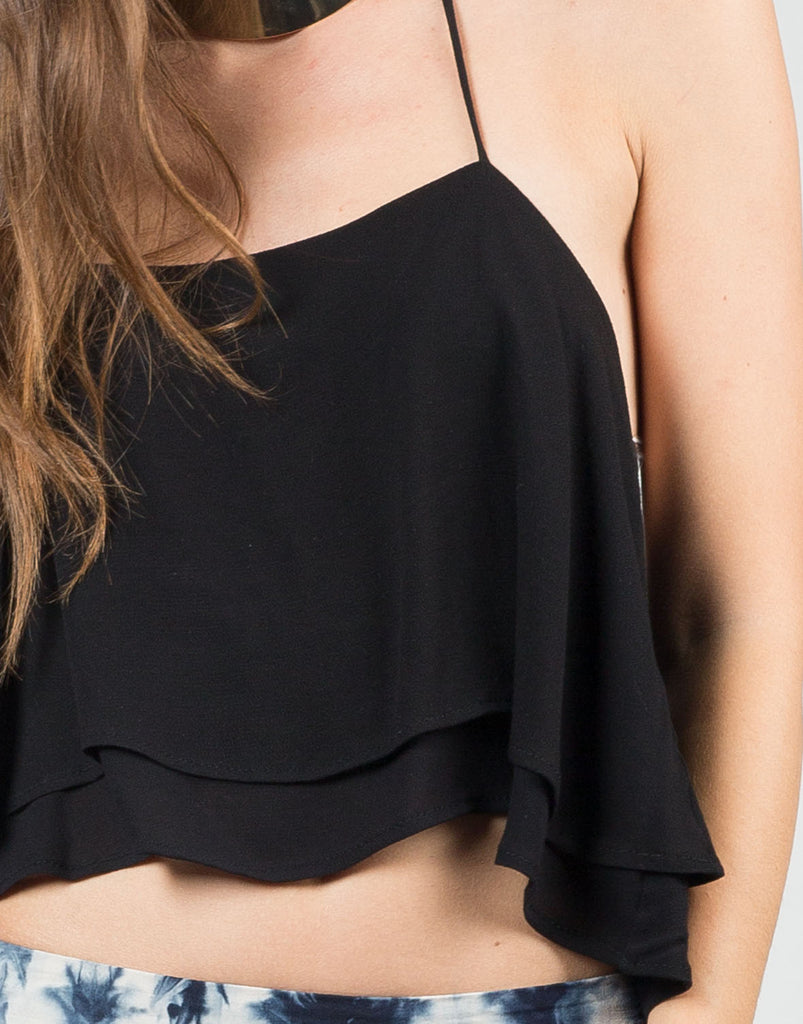 Detail of Tiered Halter Top