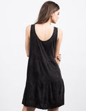 Back View of Tiered Up Babydoll Dress