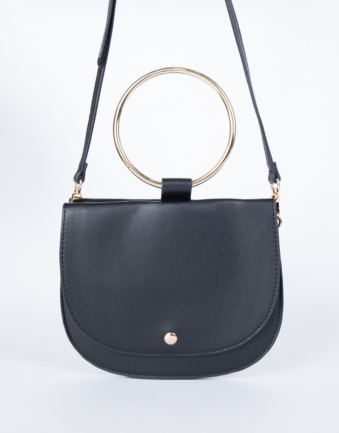 5317ea01fc38 Timeless Bracelet Bag - Circle Metal Ring Bag - Bracelet Crossbody Bag - Mini  Bag – 2020AVE
