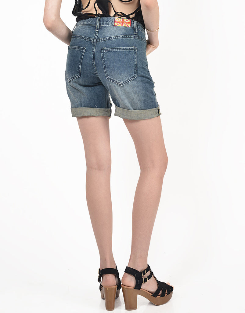 Torn Boyfriend Shorts - 2020AVE