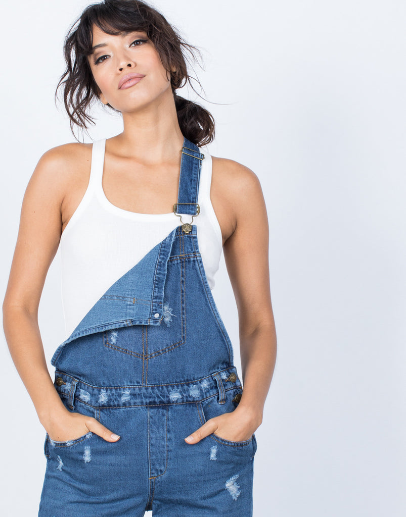 Totally Destroyed Overalls - 2020AVE