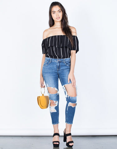Totally Ripped Up Jeans - 2020AVE