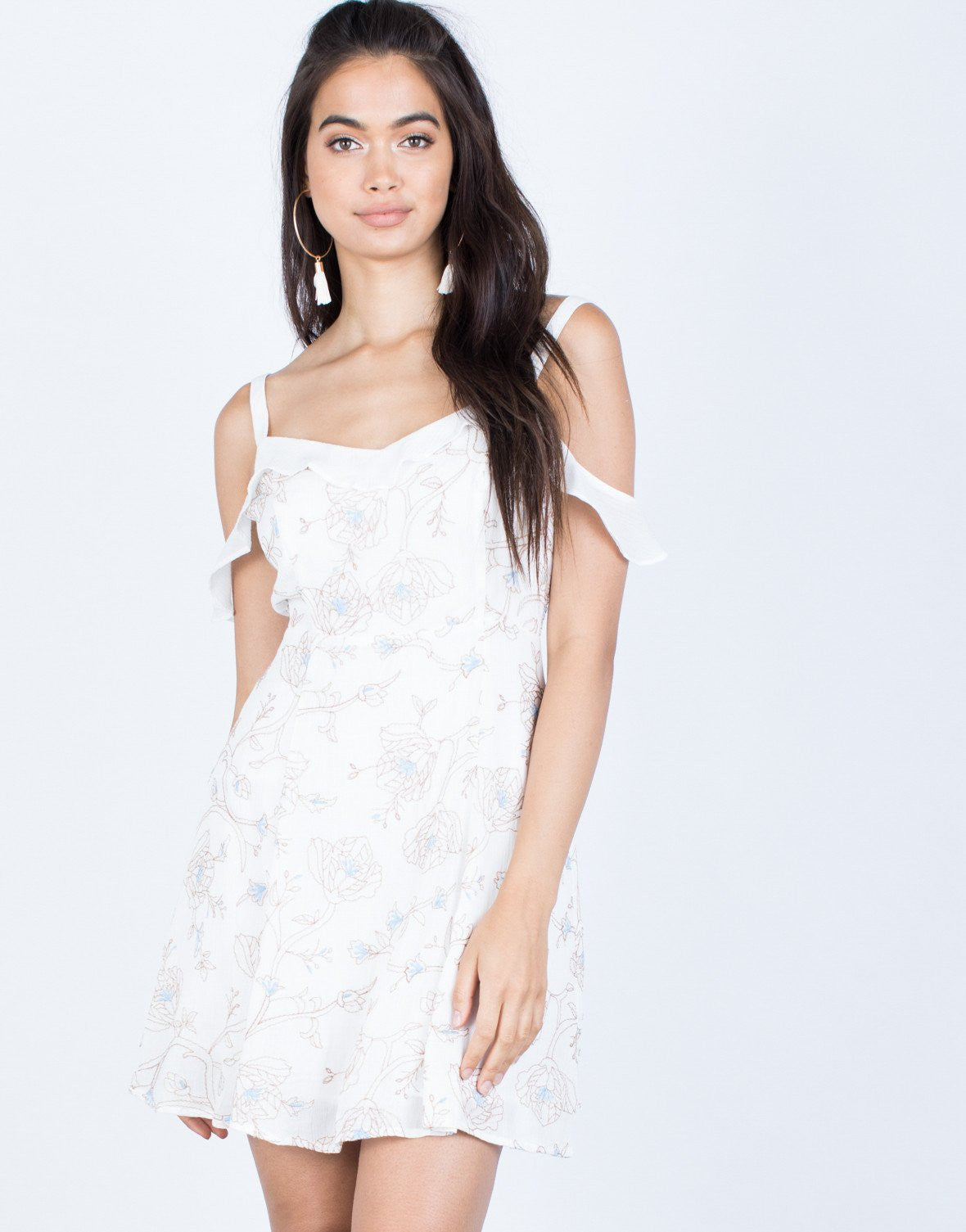 Trace Me Floral Dress - 2020AVE