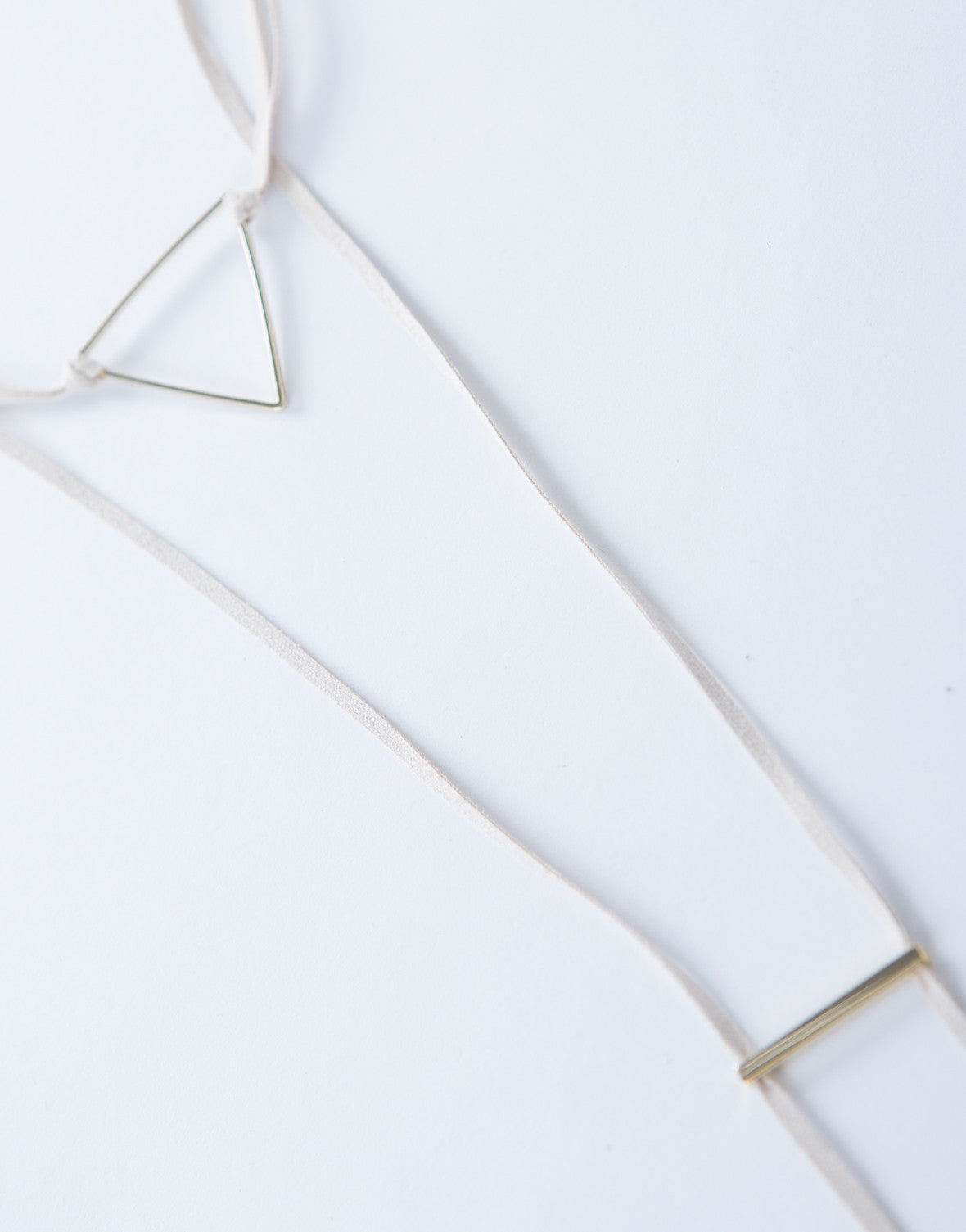 Triangle Layered Choker Necklace
