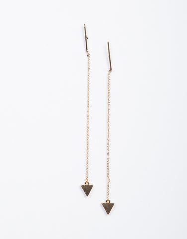 Triforce Drop Earrings