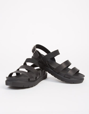 Triple Banded Flatfrom Sandals