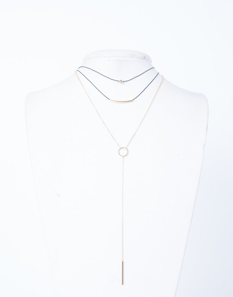 Triple Layered Necklace - 2020AVE