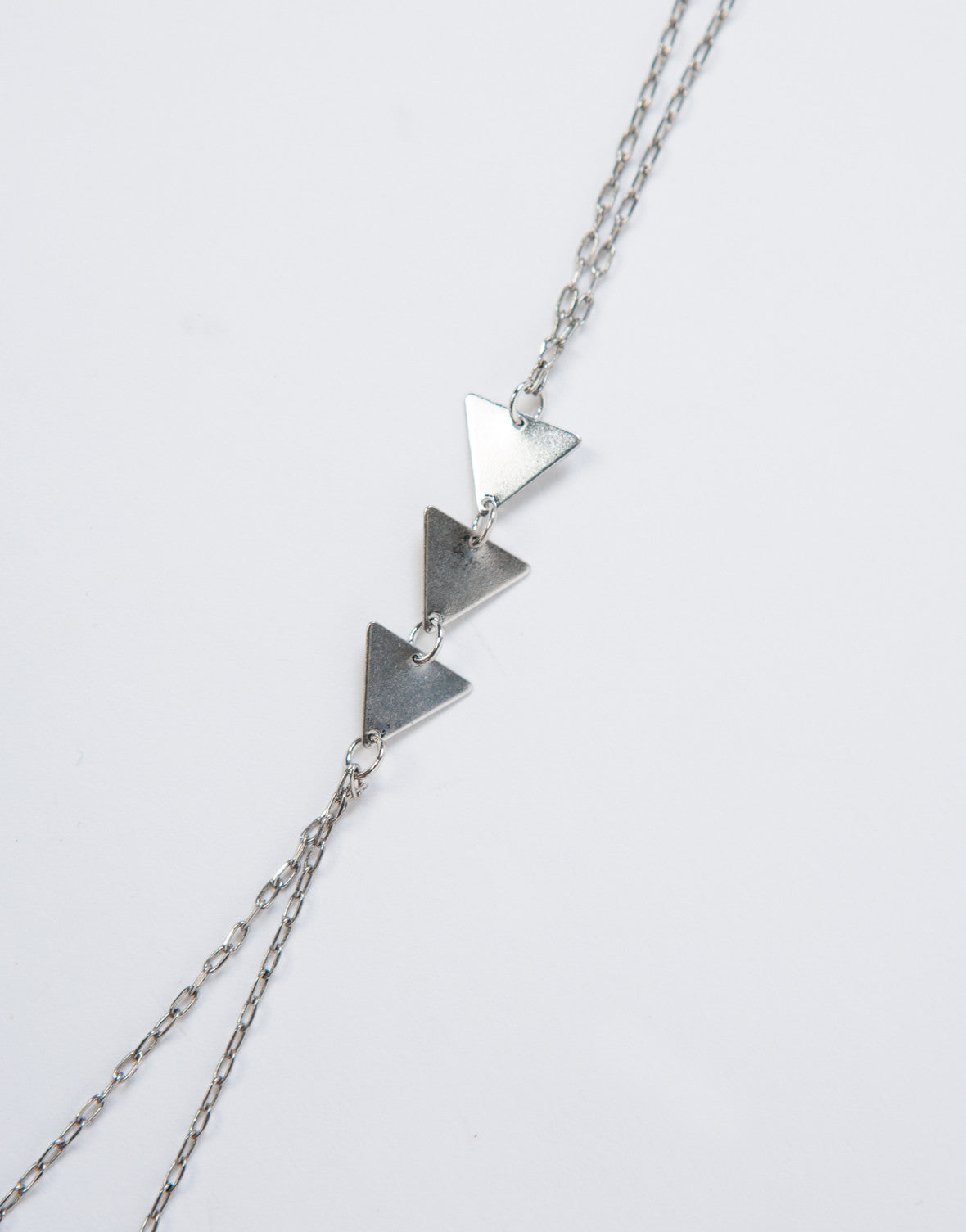 Triple Triangles Hand Chain
