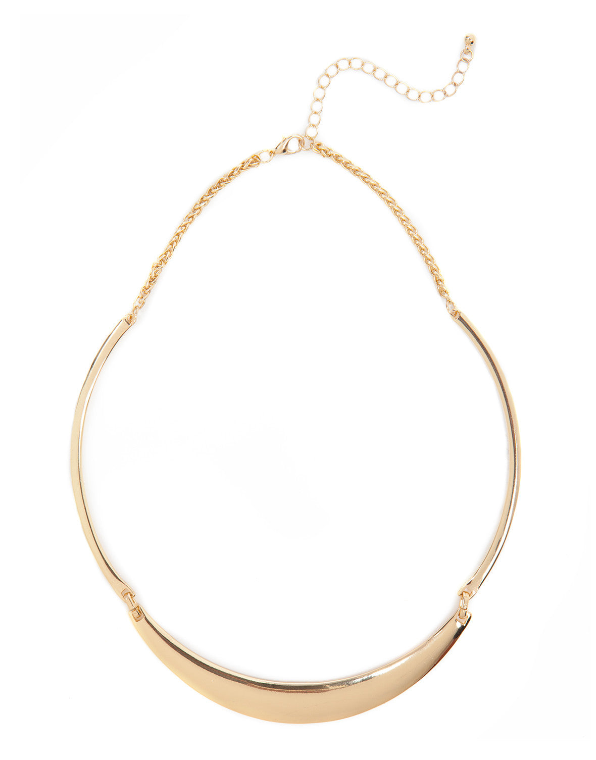 Triple Bend Collar Necklace