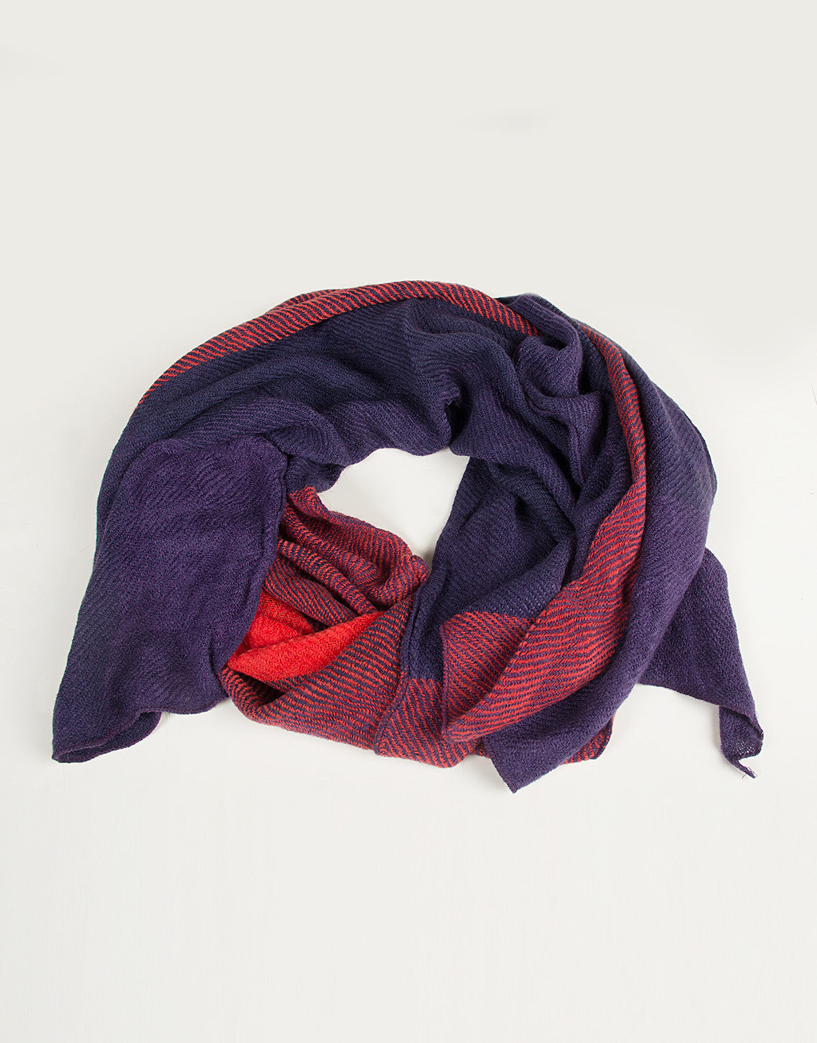 Triple Checkered Block Scarf