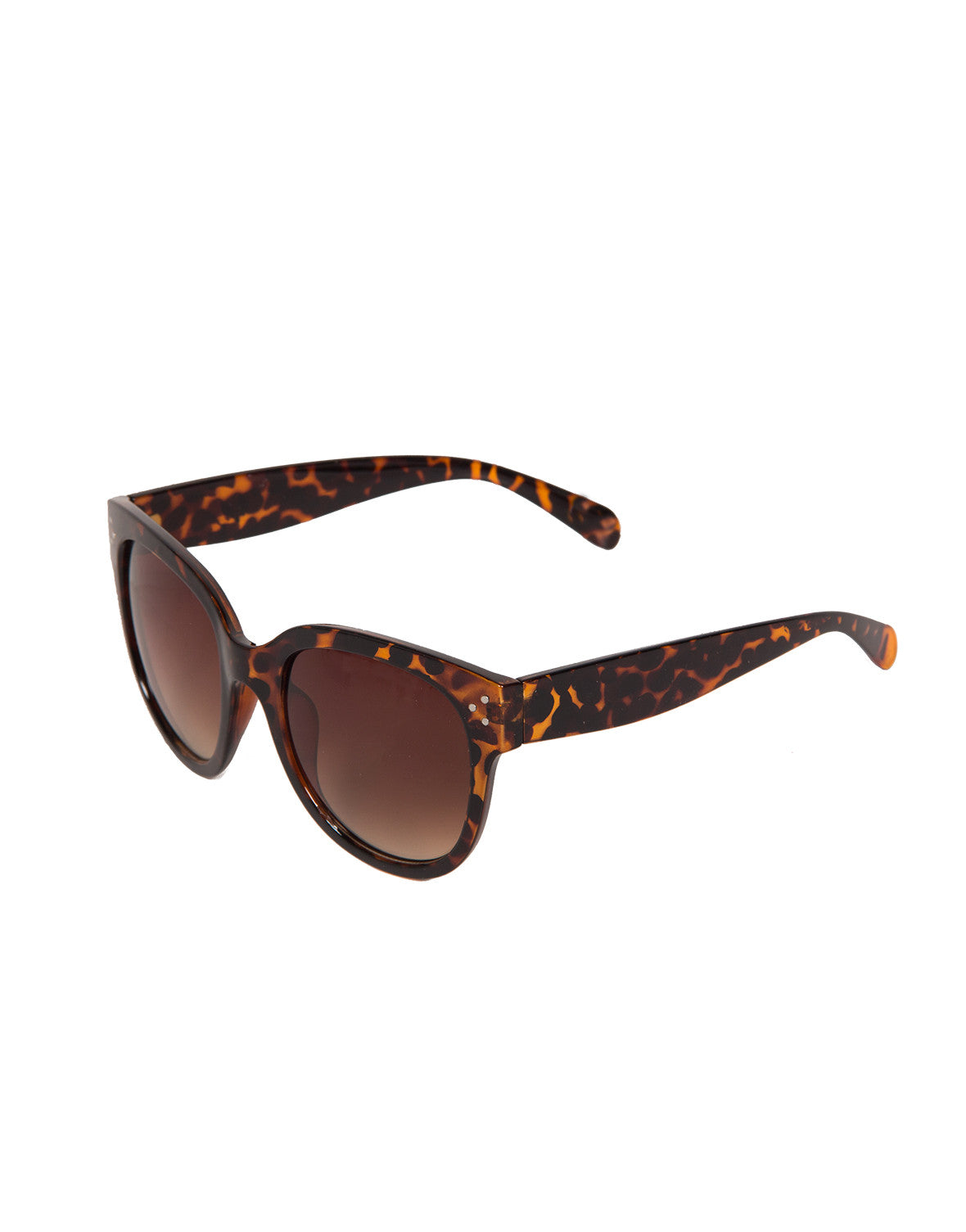 Triple Dotted Oversized Sunglasses