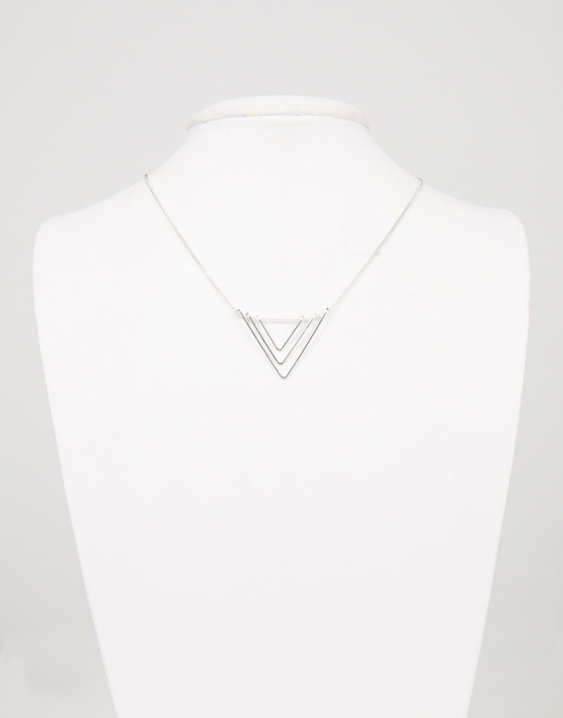 Triple Down Necklace - 2020AVE