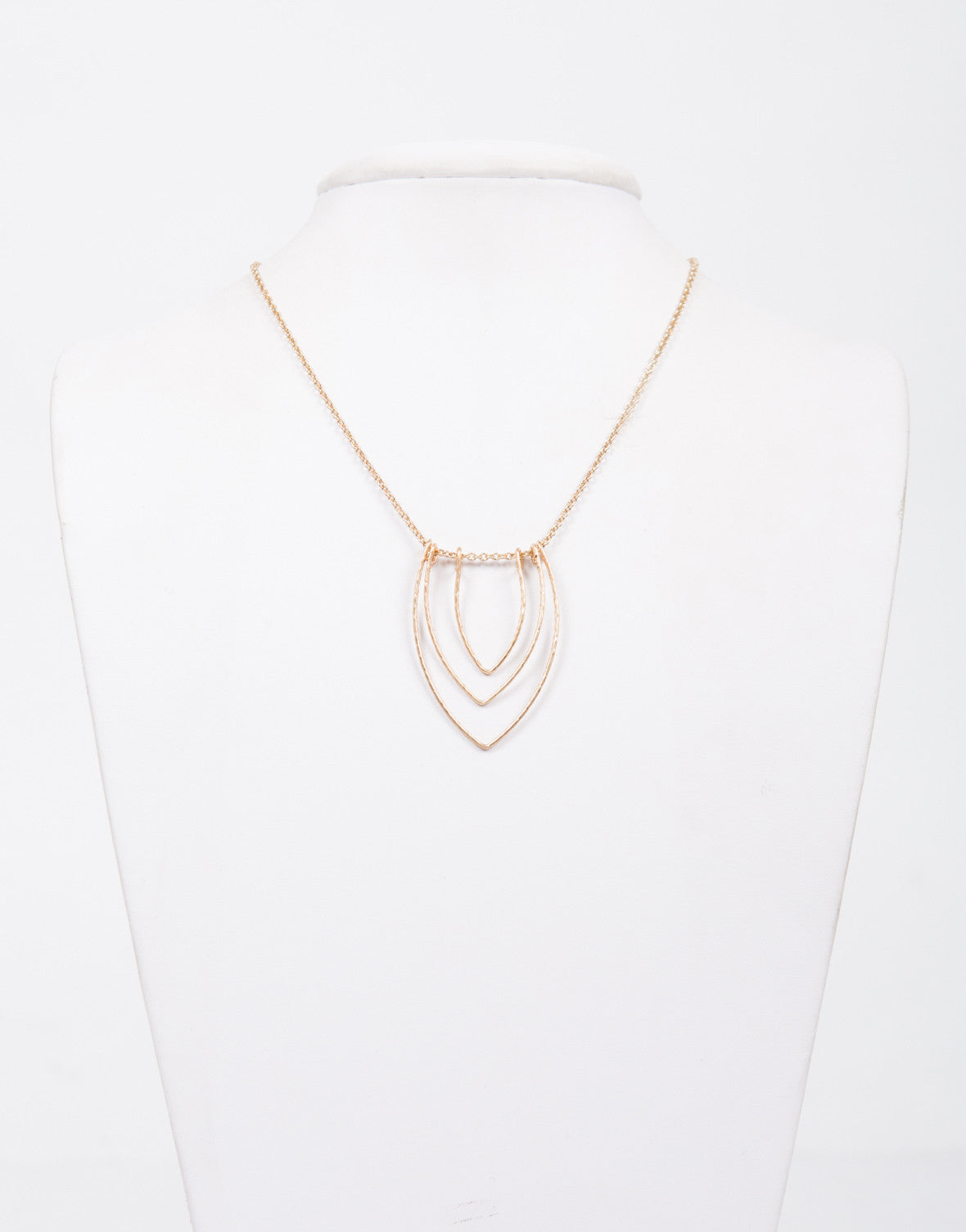 Triple Pointed Necklace