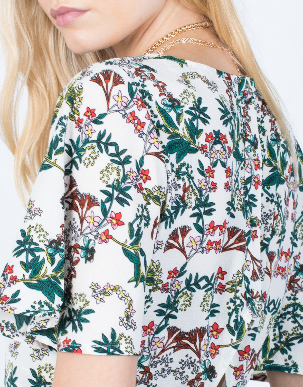 Detail of Tropical Crossover Top
