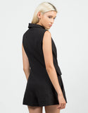 Back View of Tuxedo Romper