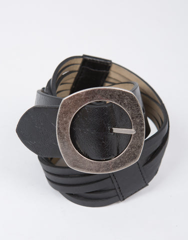Twisted Leather Belt