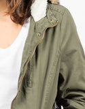 Detail of Utility Fur Jacket