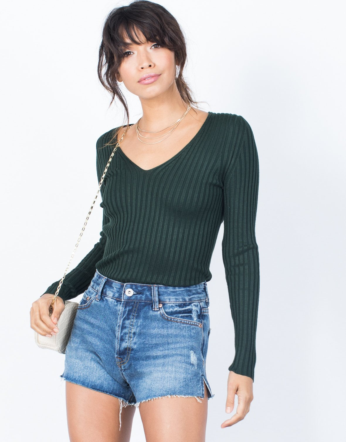 Vanessa Ribbed Top