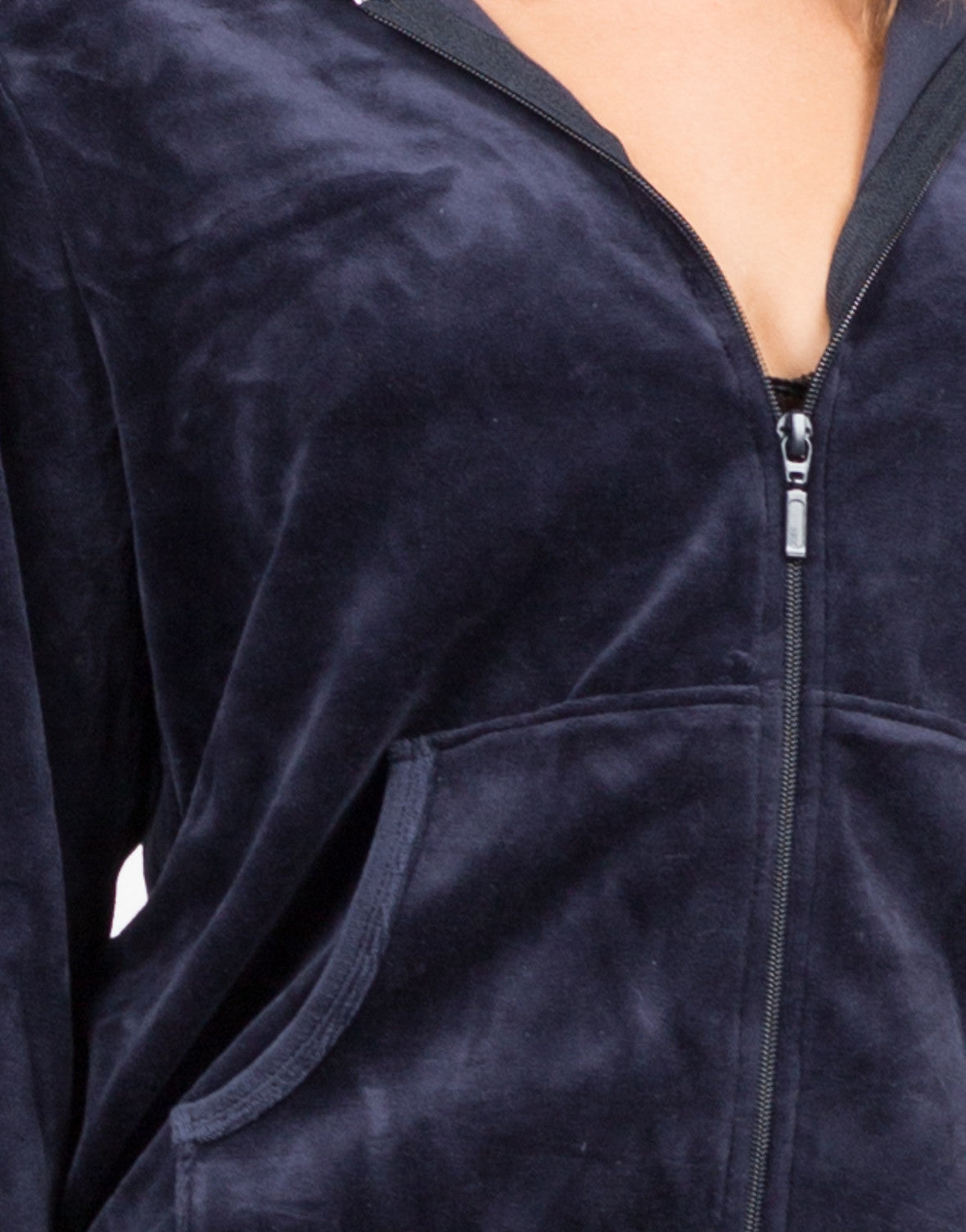 Detail of Velour Tracksuit Set