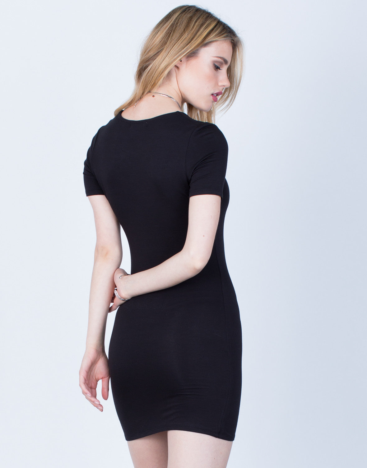 Back View of Versatile Tee Dress