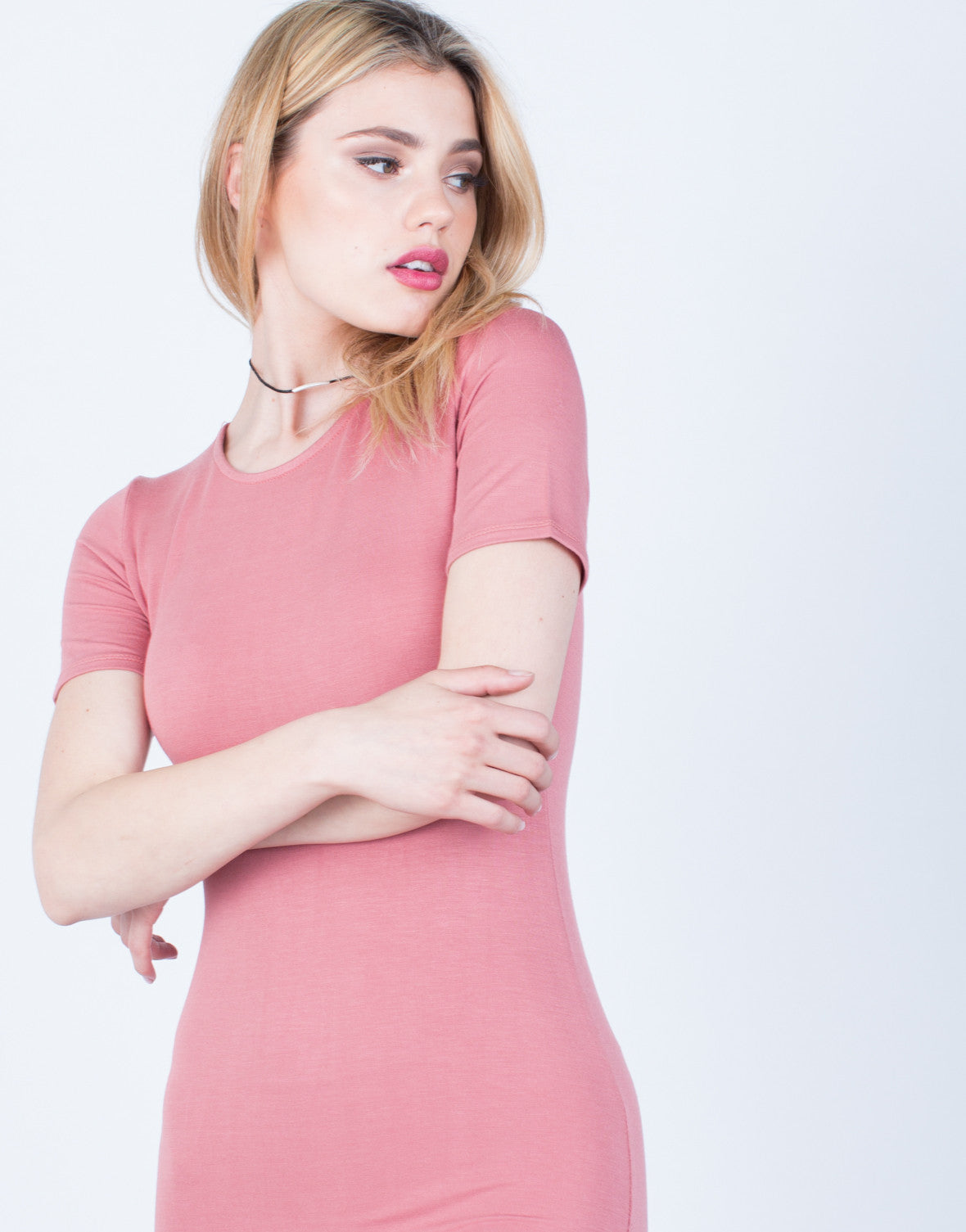 Detail of Versatile Tee Dress