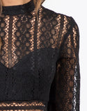 Detail of Victorian Lace Dress