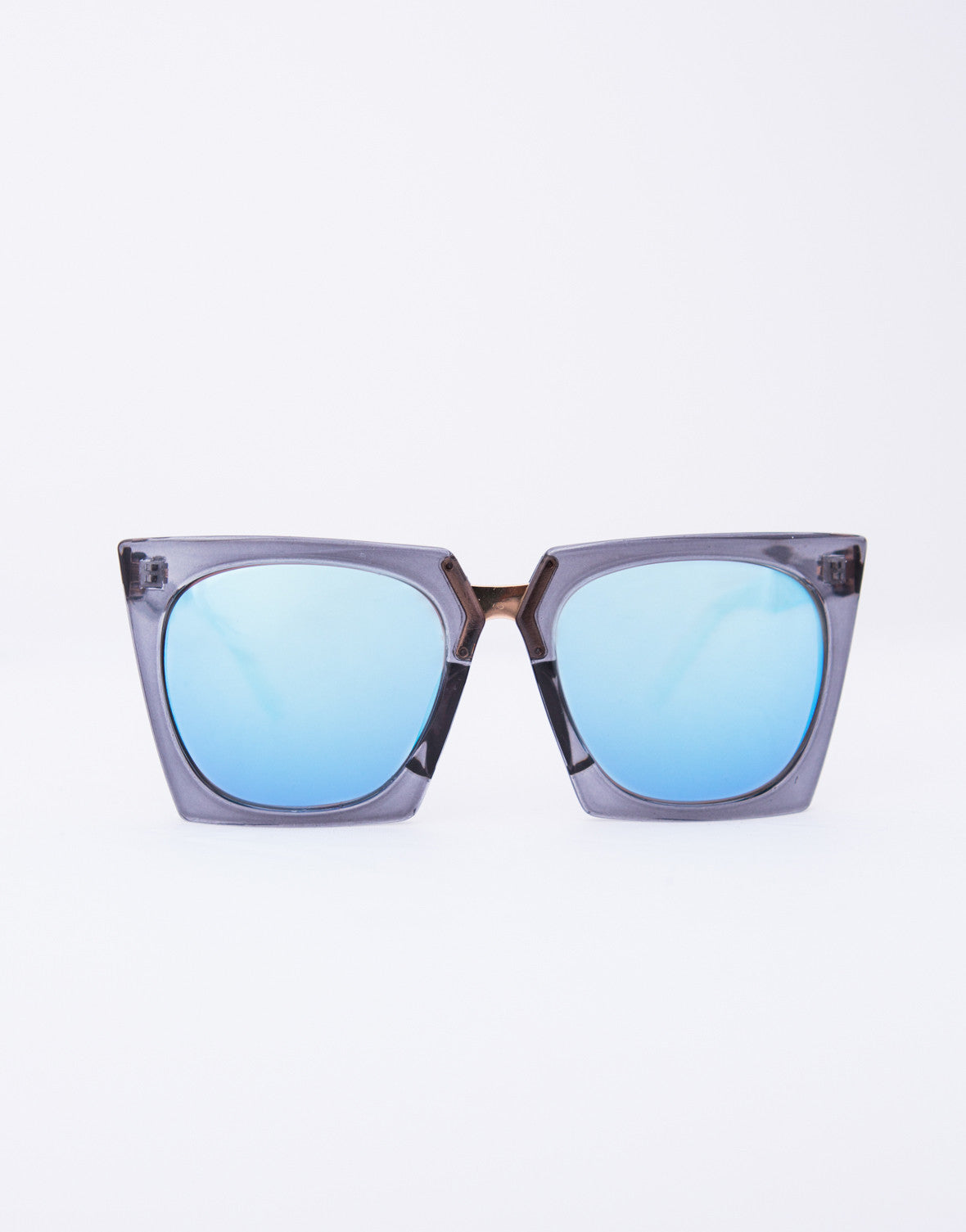 Vintage Squared In Sunglasses