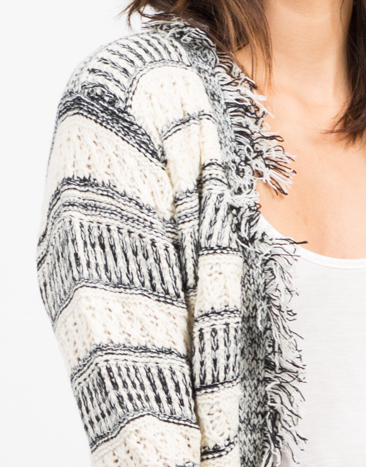 Detail of Wanderer Knit Cardigan