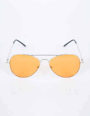 Orange Warm Days Sunnies - Top View