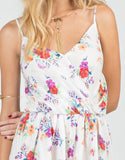 Detail of Watercolor Floral Romper