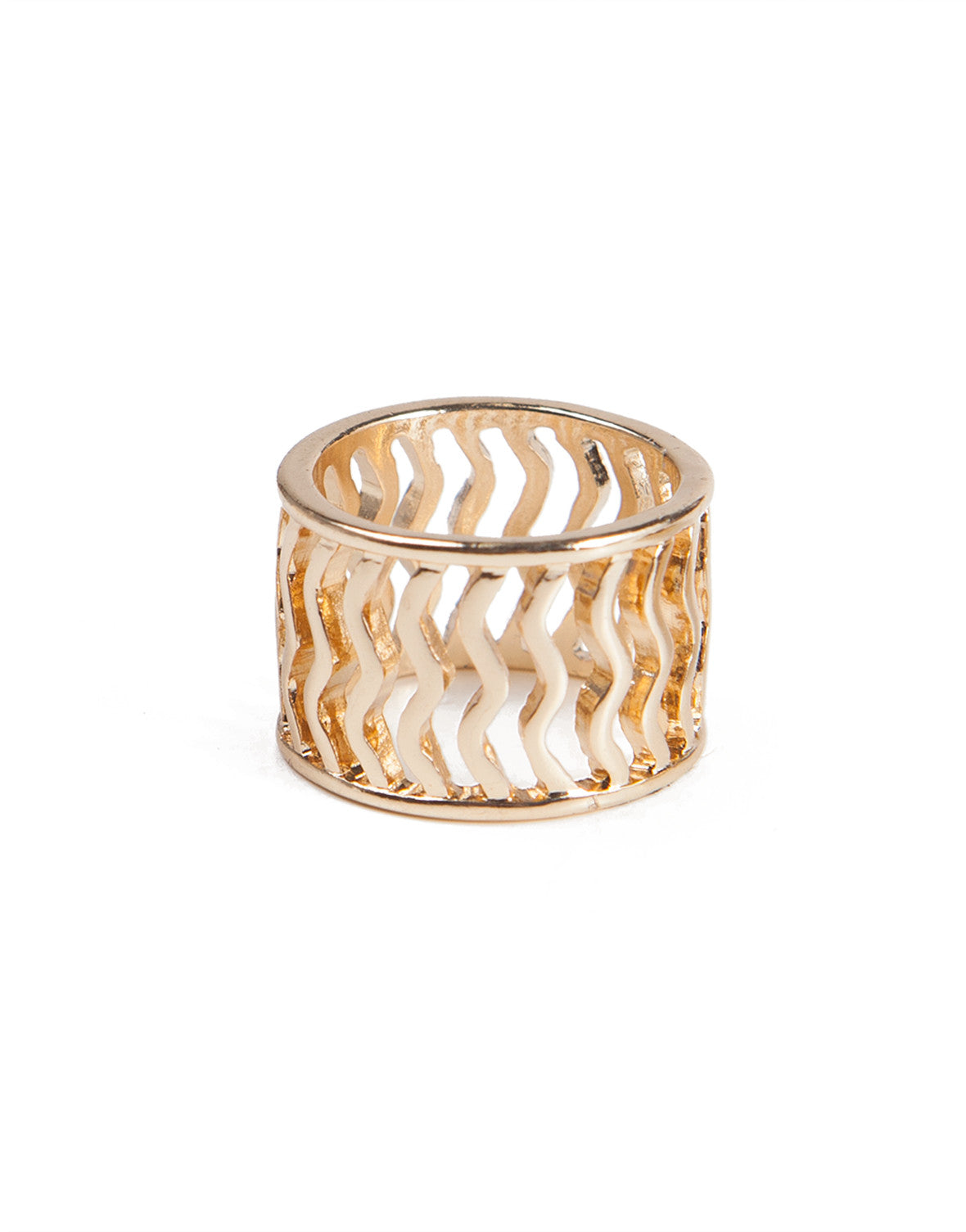 Wavy Fence Ring