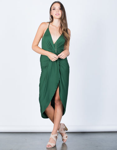When Night Falls Midi Dress