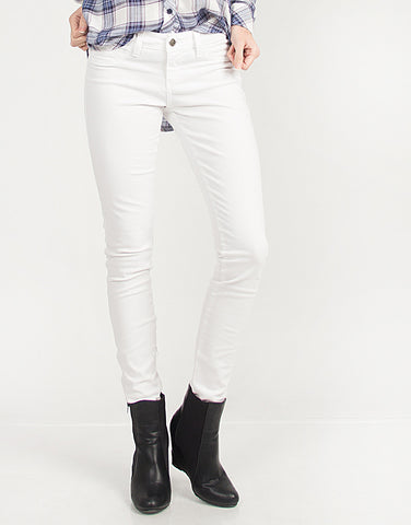 White Skinny Denim Jeans