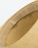 Detail of Wide Brim Straw Hat