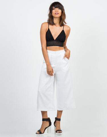 Wide Culotte Pants - 2020AVE