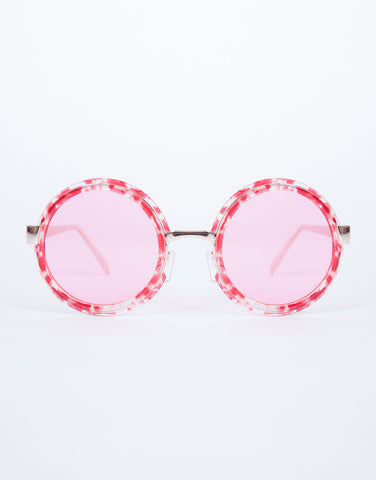 Hot Pink Willy Wonka Sunnies