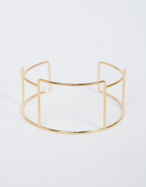 Wired Cut Bracelet Cuff by 2020 Ave