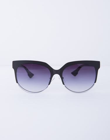 Wired Flat Framed Sunnies