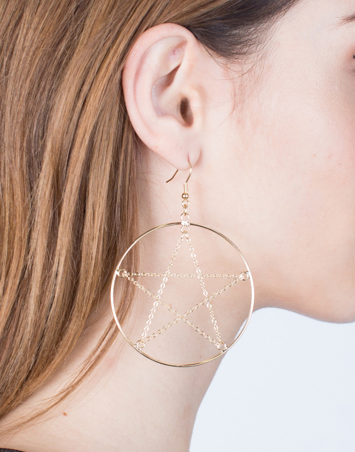 Wired Star Hoops